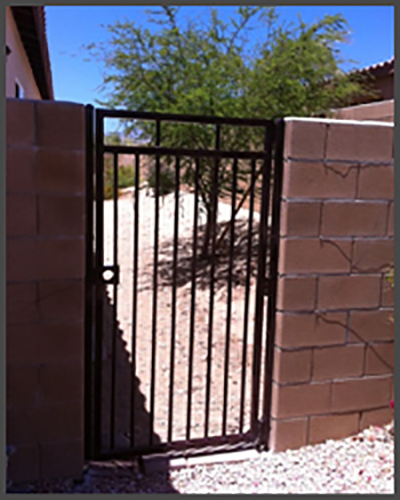 Pedestrian Gates Gallery Precision Garage Doors