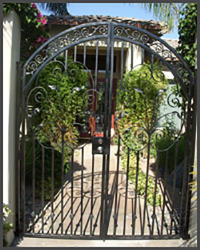 Swing Open Gate